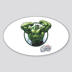 The Incredible Hulk Sticker (Oval)