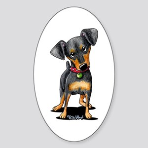 Min Pin Sticker (Oval)