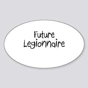 Future Legionnaire Oval Sticker