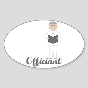 Officiant Sticker