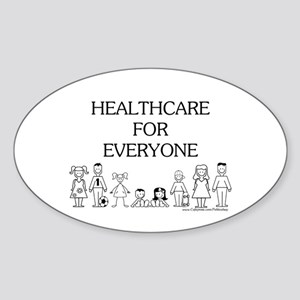 Healthcare 4 Everyone Oval Sticker