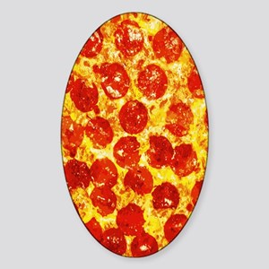 Pizzatime Sticker (Oval)