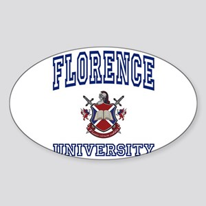 FLORENCE University Oval Sticker