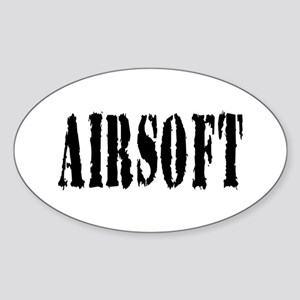 Airsoft Oval Sticker