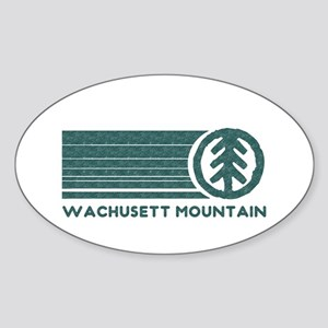 Wachusett Mountain Sticker (Oval)