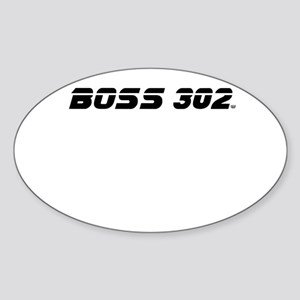 BOSS 302 Sticker (Oval)