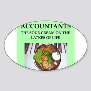 accountant Sticker (Oval)