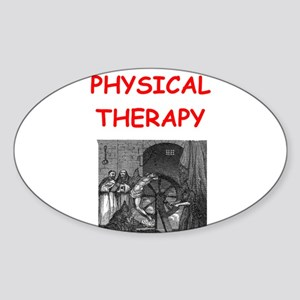 PHYSICAL2 Sticker (Oval)