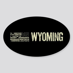Black Flag: Wyoming Sticker (Oval)