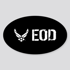 USAF: EOD Sticker (Oval)