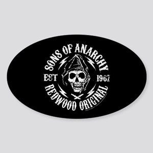 SOA Redwood Sticker (Oval)