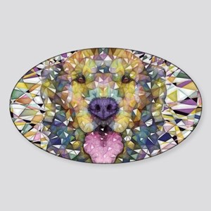 Rainbow Dog Sticker