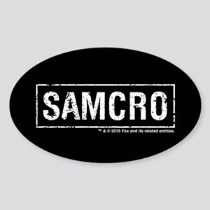 SAMCRO Sticker (Oval)