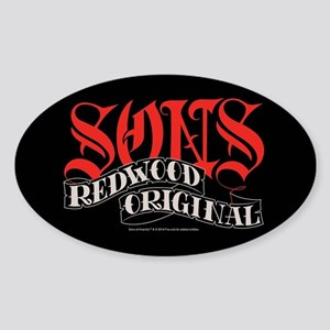 Sons Redwood Original Sticker (Oval)