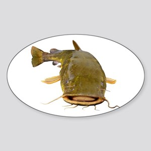 Fat Flathead catfish Sticker