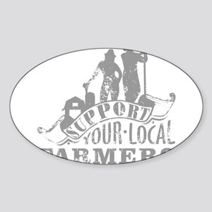 Support Your Local Farmers Sticker