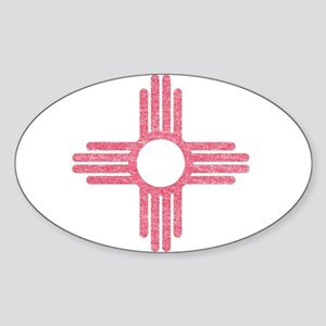 New Mexico State Flag Sticker
