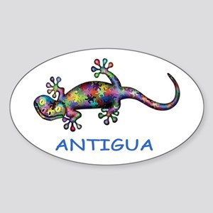 Antigua Gecko Sticker