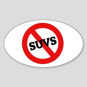 Anti Suvs Oval Sticker