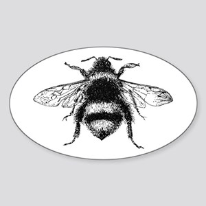 Vintage Honey Bee Sticker