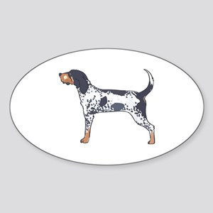 BLUETICK COONHOUND Sticker