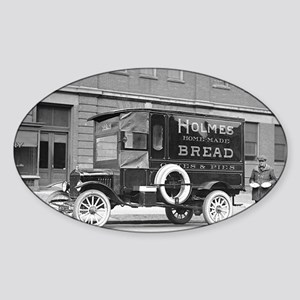 Holmes Bakery Delivery Truck Sticker (Oval)