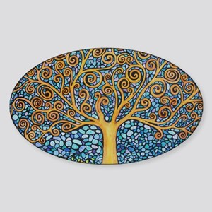 My Tree of Life Sticker (Oval)