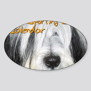 Non-Sporting Dogs CALENDAR Sticker (Oval)
