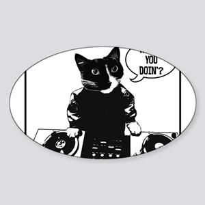 Dj Kitty Stickers - CafePress