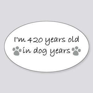 60 dog years 2-2 Sticker