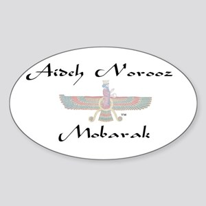 Aideh Norooz Oval Sticker