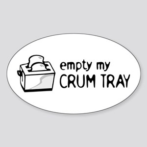 Chef Kitchen Humor Sticker (Oval)