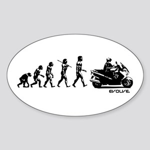 SUZUKI BURGMAN EVOLUTION Sticker (Oval)