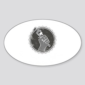 Pipelayers Union Sticker (Oval)