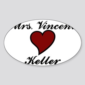 Beauty and The Beast Sticker (Oval)