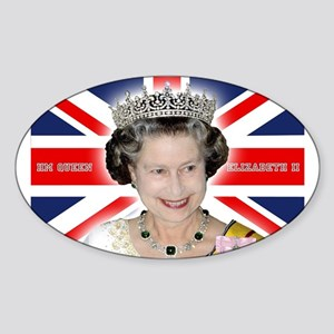 HM Queen Elizabeth II Sticker