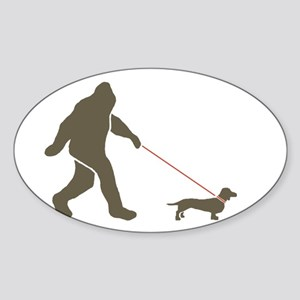 Sas. & Dog Rectangle Sticker