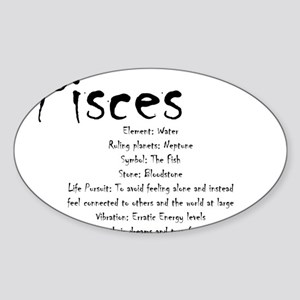 Pisces Stickers - CafePress