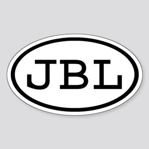 JBL Oval Oval Sticker