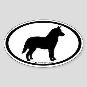 Siberian Husky Stickers Cafepress