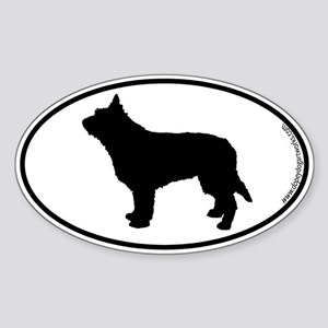 Berger Picard SILHOUETTE Oval Sticker