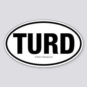 Turd Attitude Stickers - CafePress