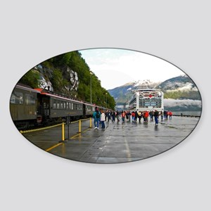 Railway and Cruise Ship Sticker (Oval)