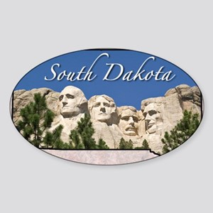 SDakota Sticker (Oval)