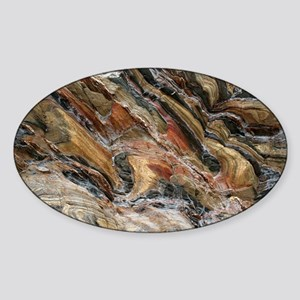 Rock swirls in nature Sticker