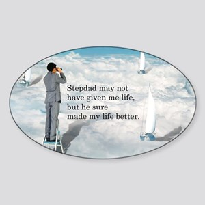 My Life Better - Postcards Sticker (Oval)
