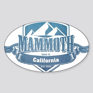 Mammoth California Ski Resort 1 Sticker