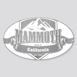 Mammoth California Ski Resort 5 Sticker