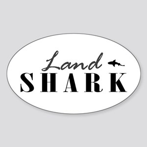Land Shark Oval Sticker