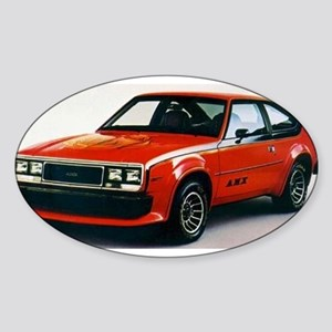 AMC AMX Oval Sticker